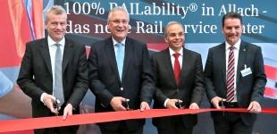 Eröffnung des Siemens Rail Service Centers