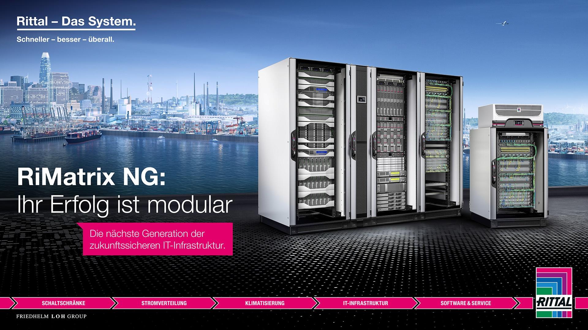 Produkteinführung RiMatrix NG – Ihr Erfolg ist modular