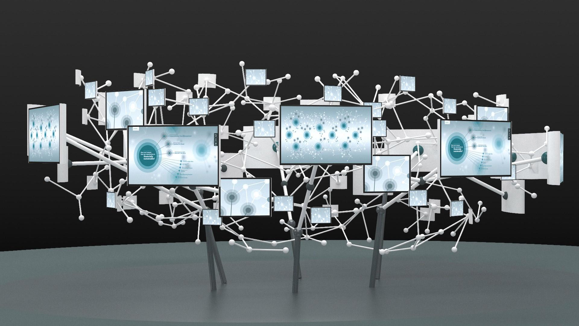 Multimedia Messe-Installation Siemens Healthcare
