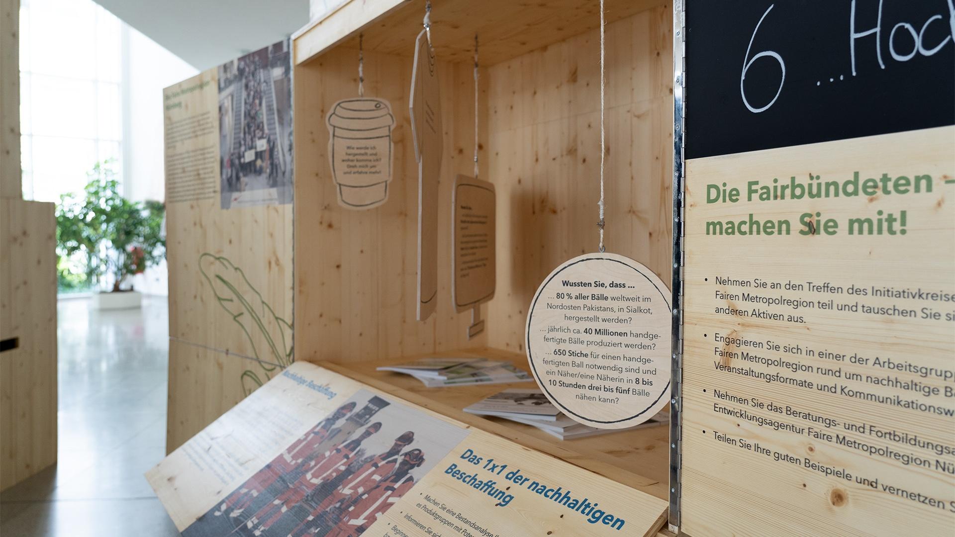 Pop-Up Wanderausstellung – Metropolregion Nürnberg