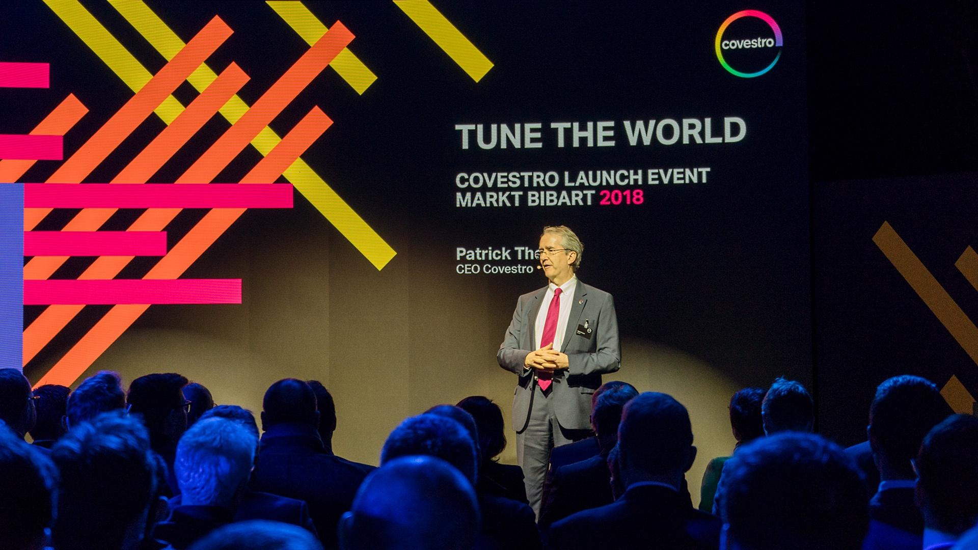 Covestro Launch Event Markt Bibart