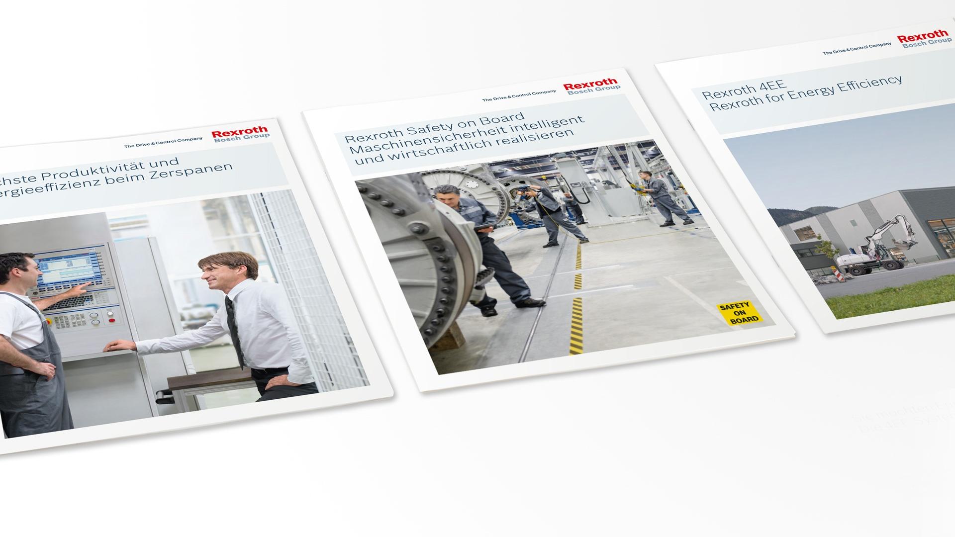 Broschüren Bosch Rexroth
