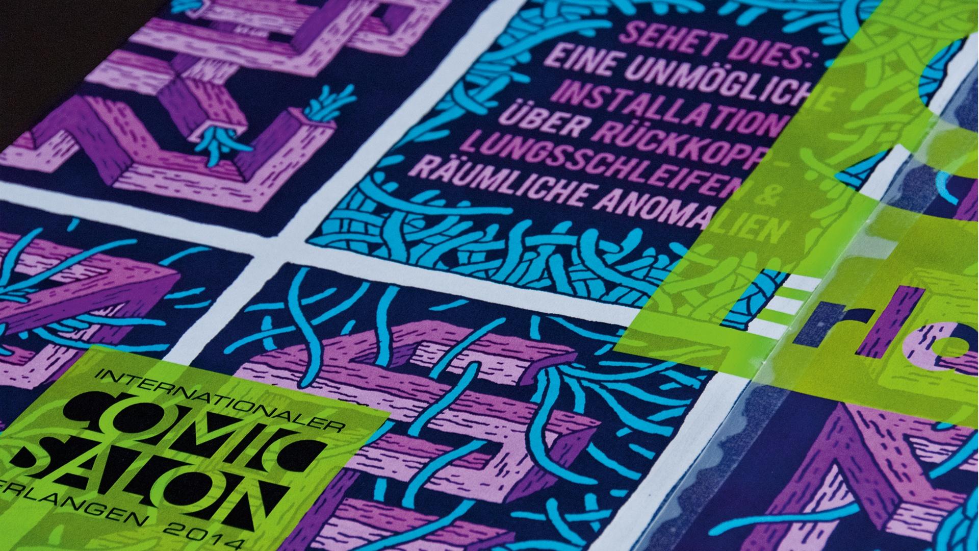 Erscheinungsbild Comic-Salon Erlangen