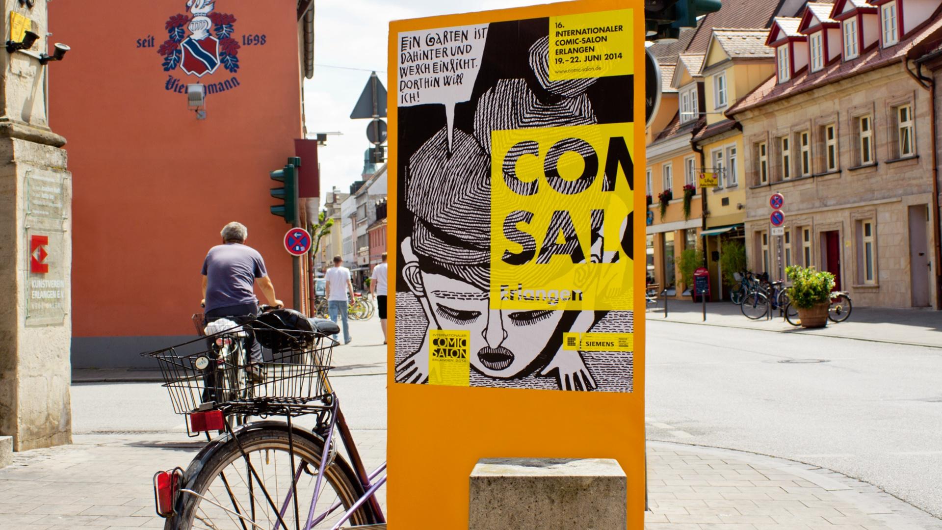 Erscheinungsbild Raum Comic-Salon Erlangen