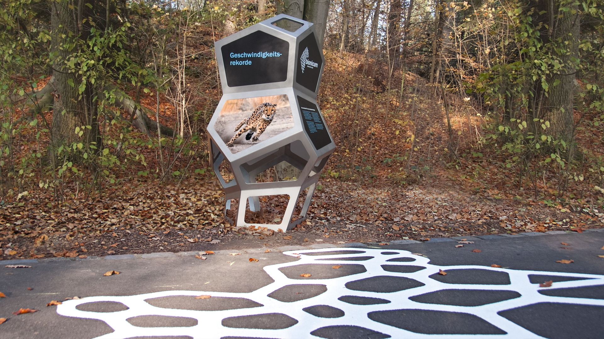 Design bionischer Rundgang Nürnberg