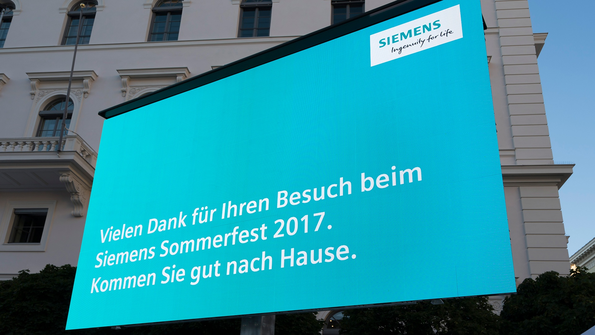 Siemens Sommerfest 2017