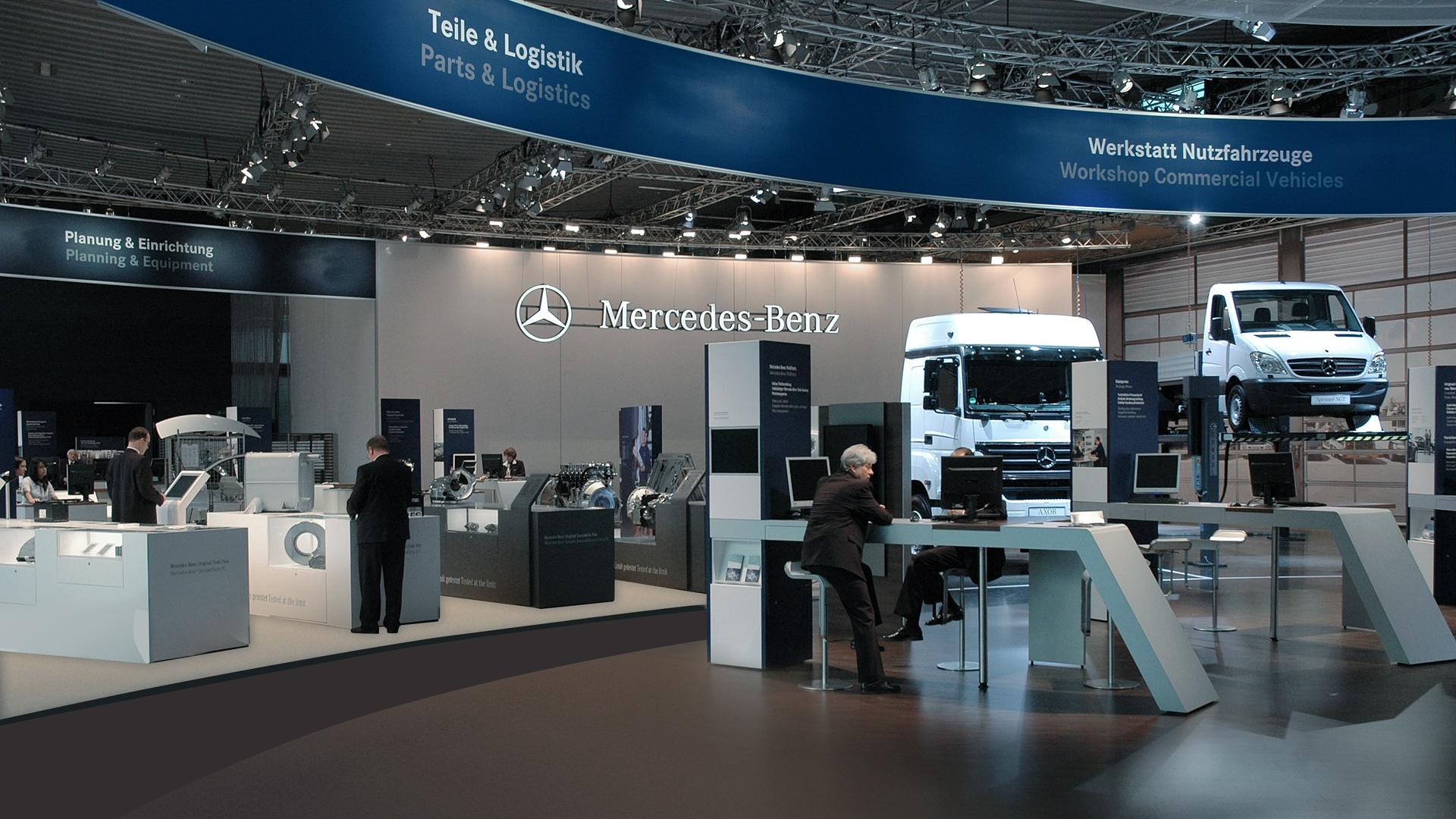 Daimler Stand Design Automechanika
