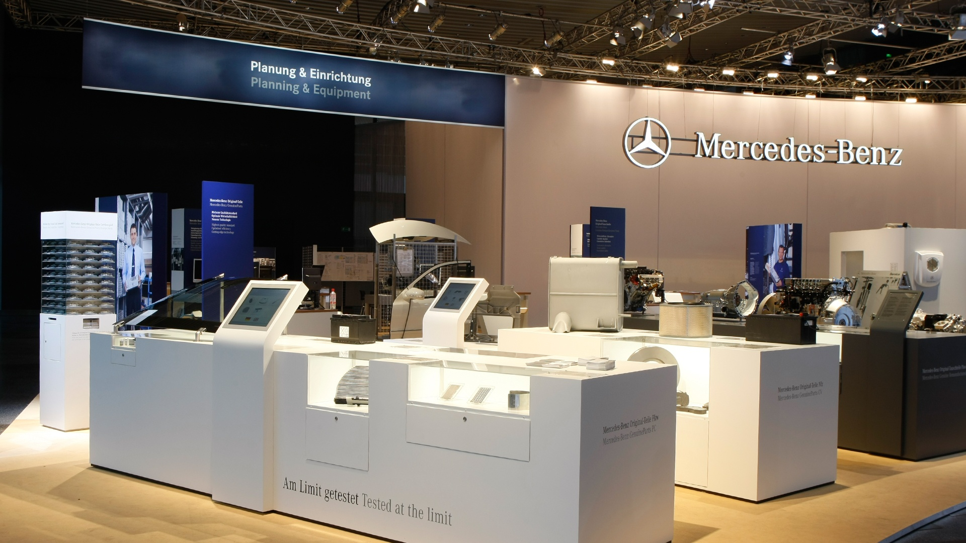 Daimler Stand Design Automechanika