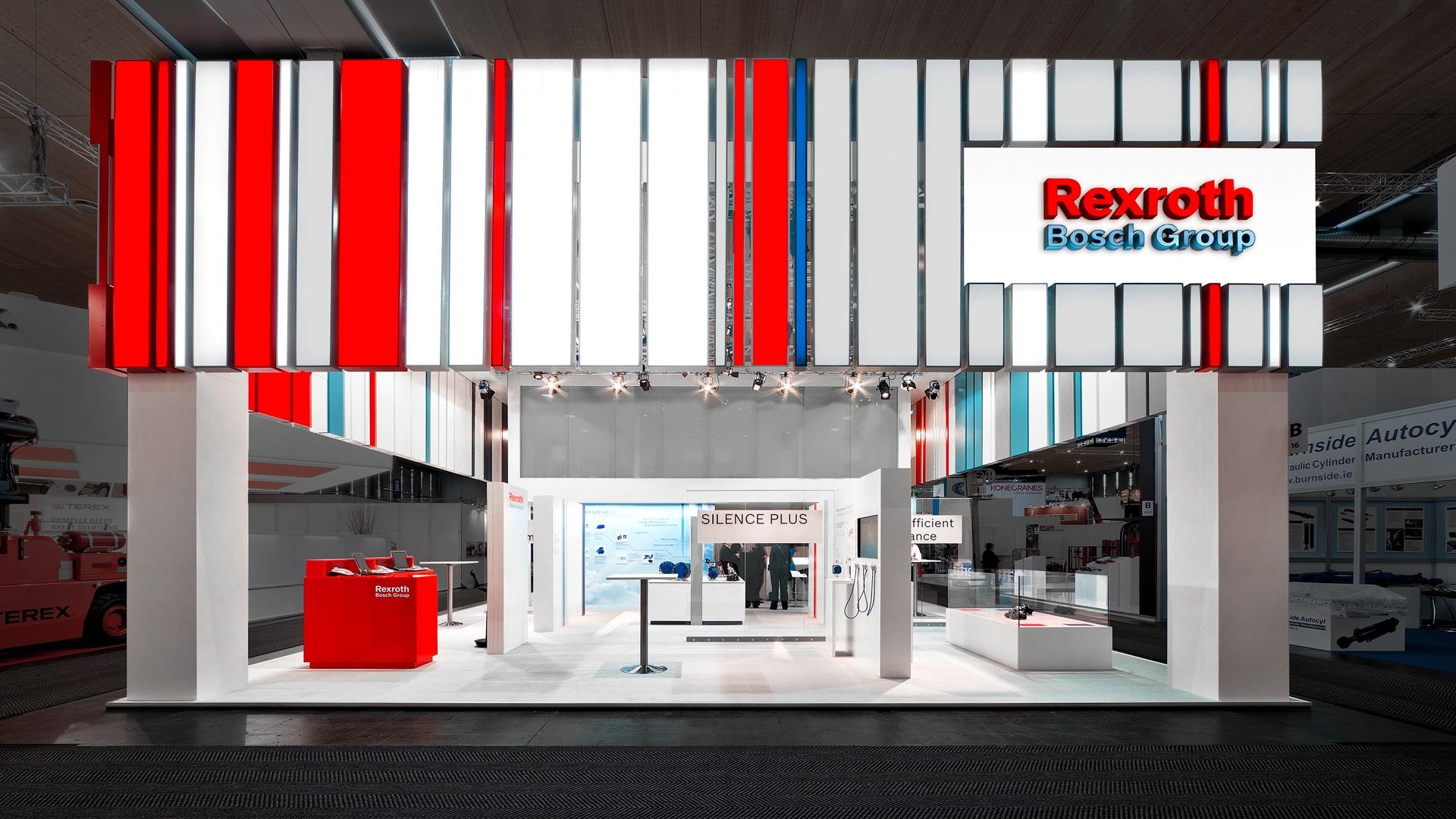 Architektur Bosch Rexroth CeMAT Messe