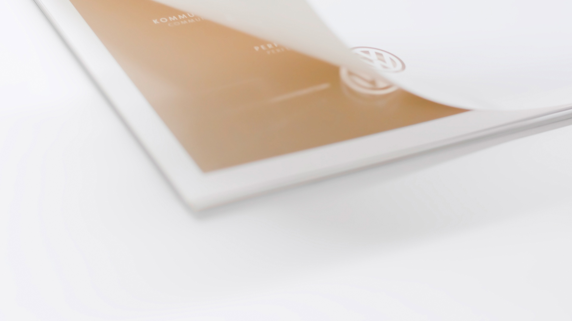 Siebdruck Typografie Gläserne Manufaktur Kalender VW