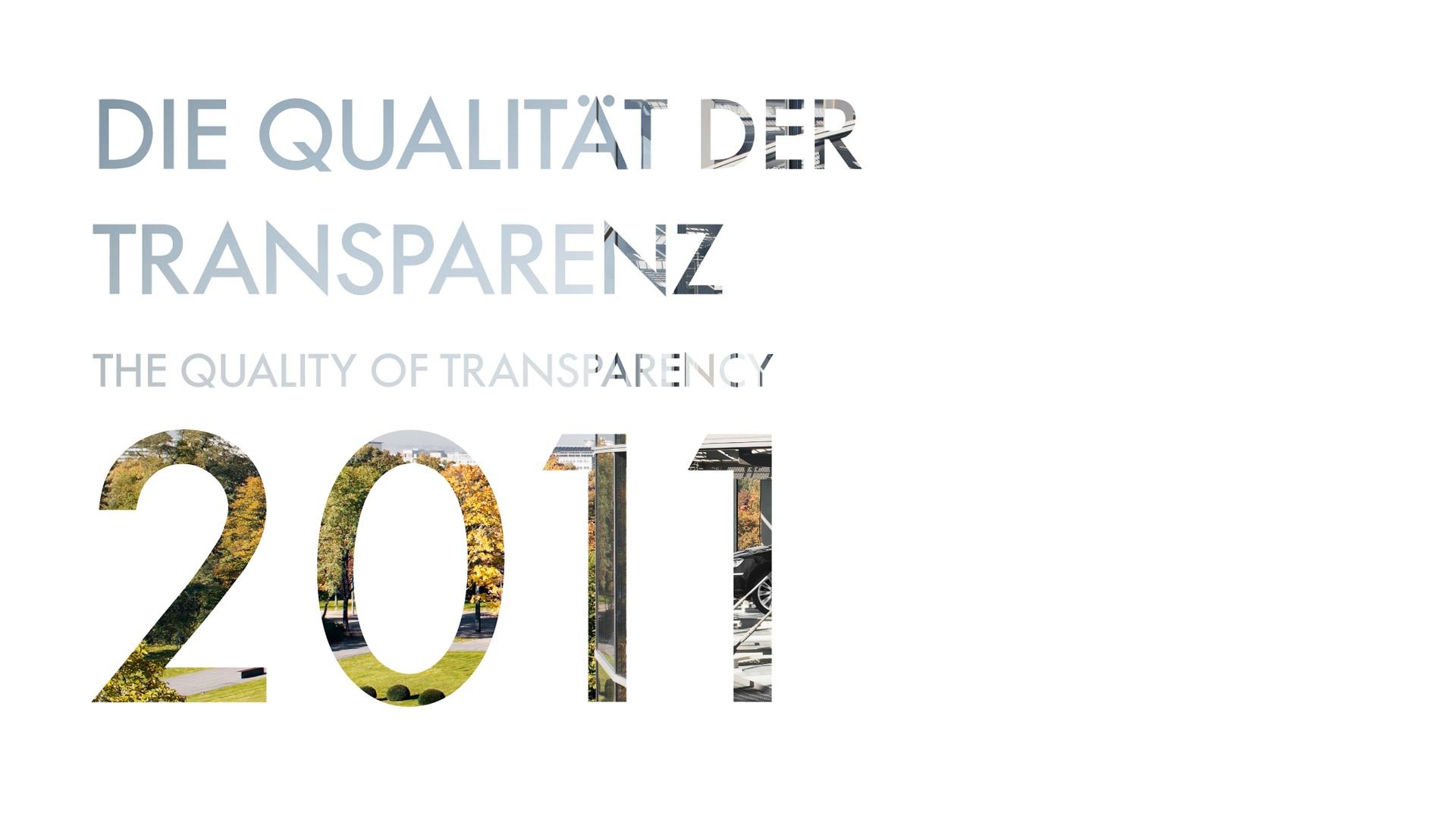 Typografie Cover Gläserne Manufaktur Kalender VW