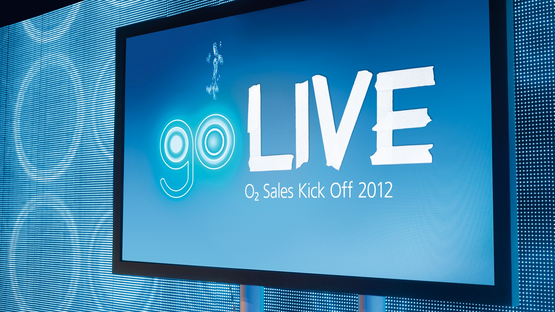 o2 Corporate Event go LIVE