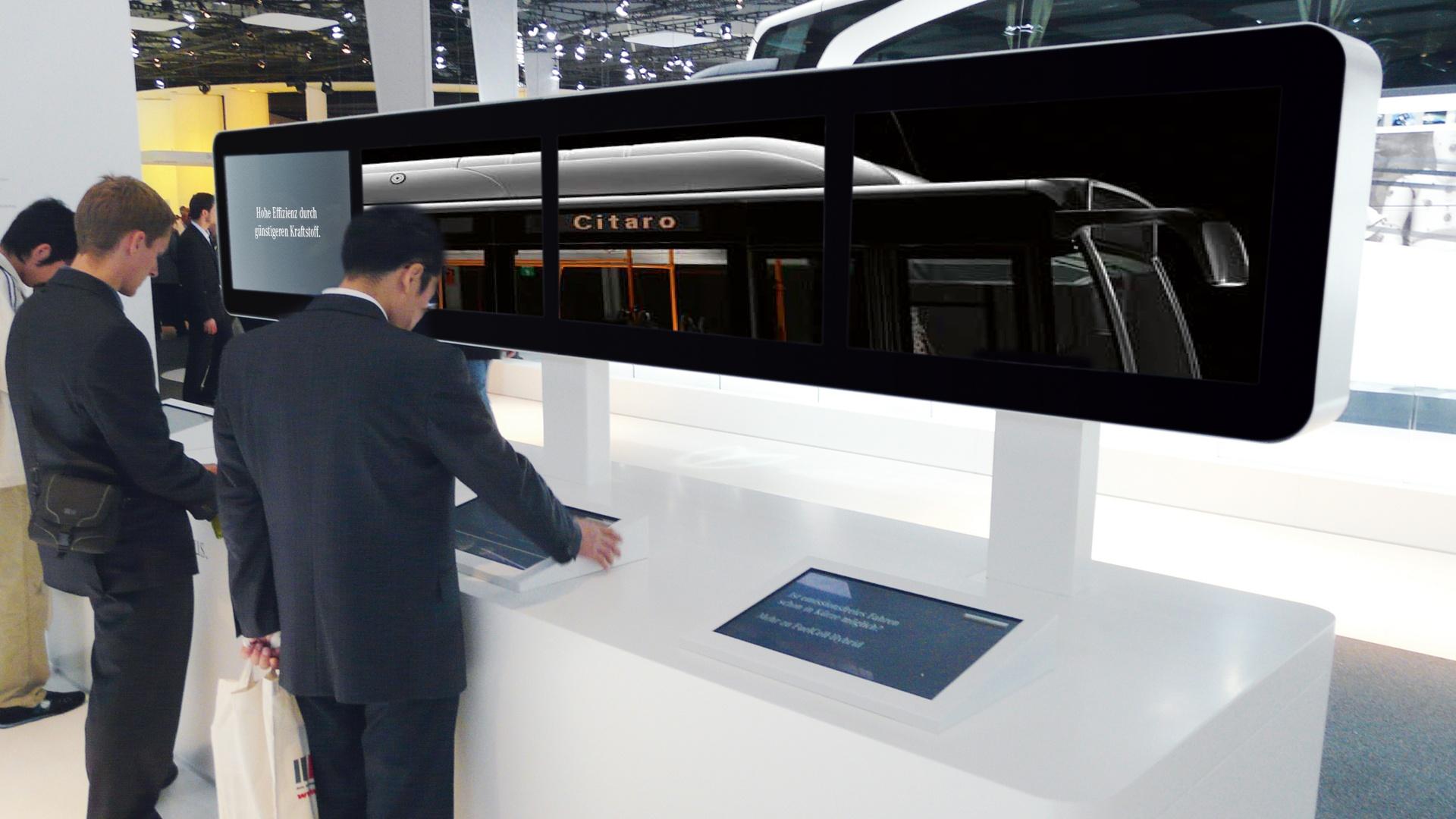 Messeauftritt IAA Nutzfahrzeuge Daimler 3