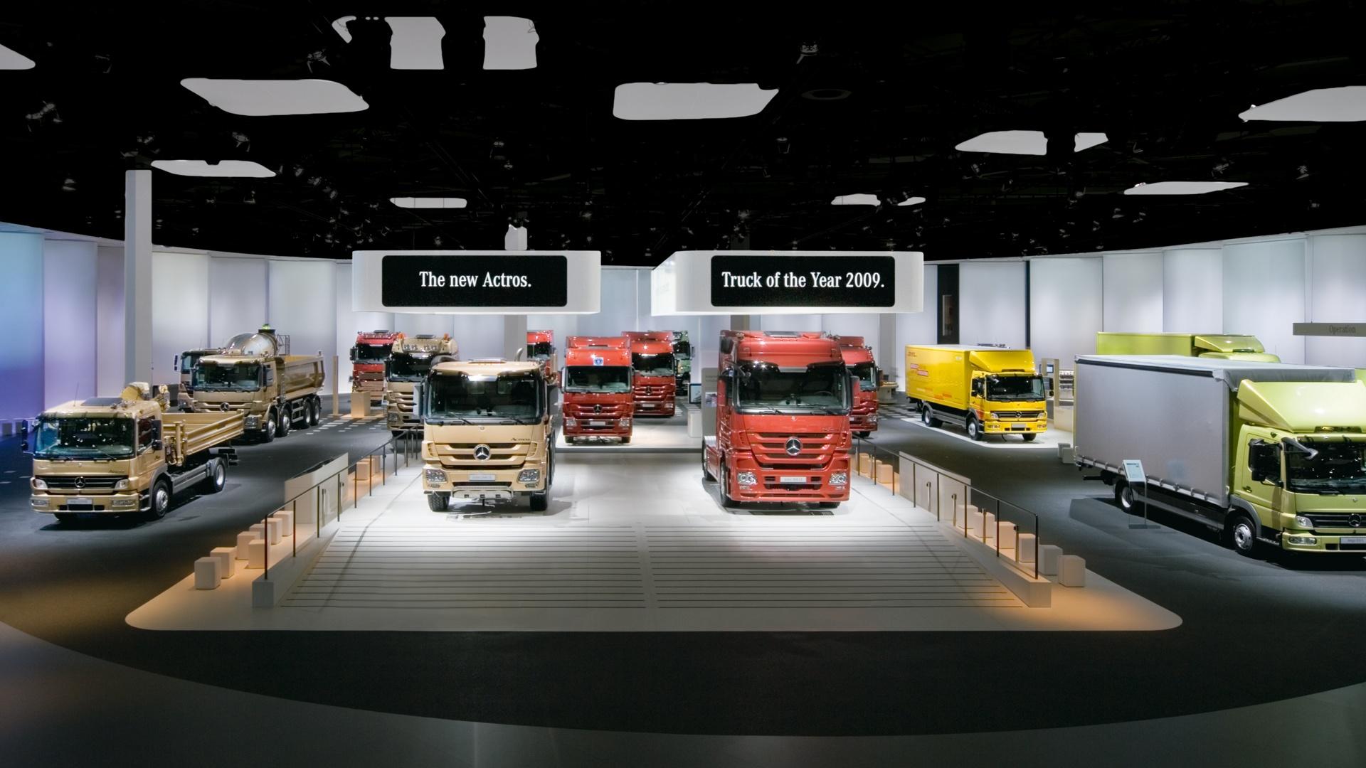 Messeauftritt IAA Nutzfahrzeuge Daimler 4
