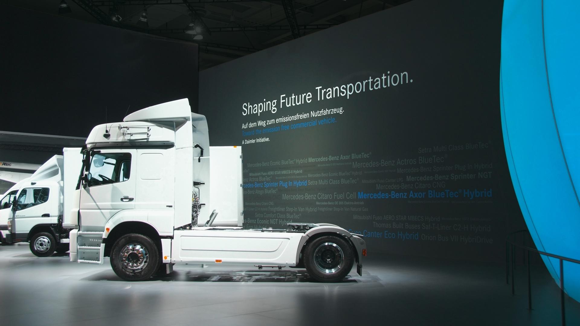 Trucks IAA Daimler