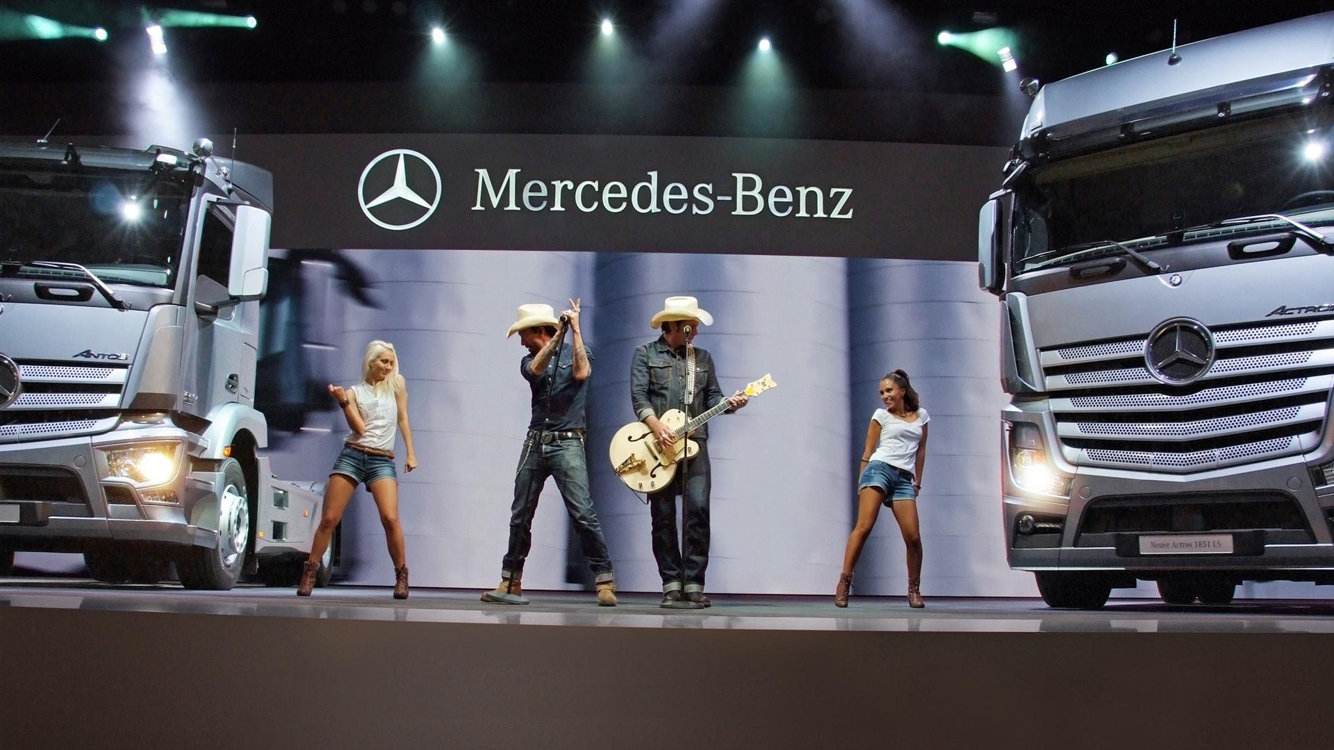 Daimler BossHoss Live Show IAA