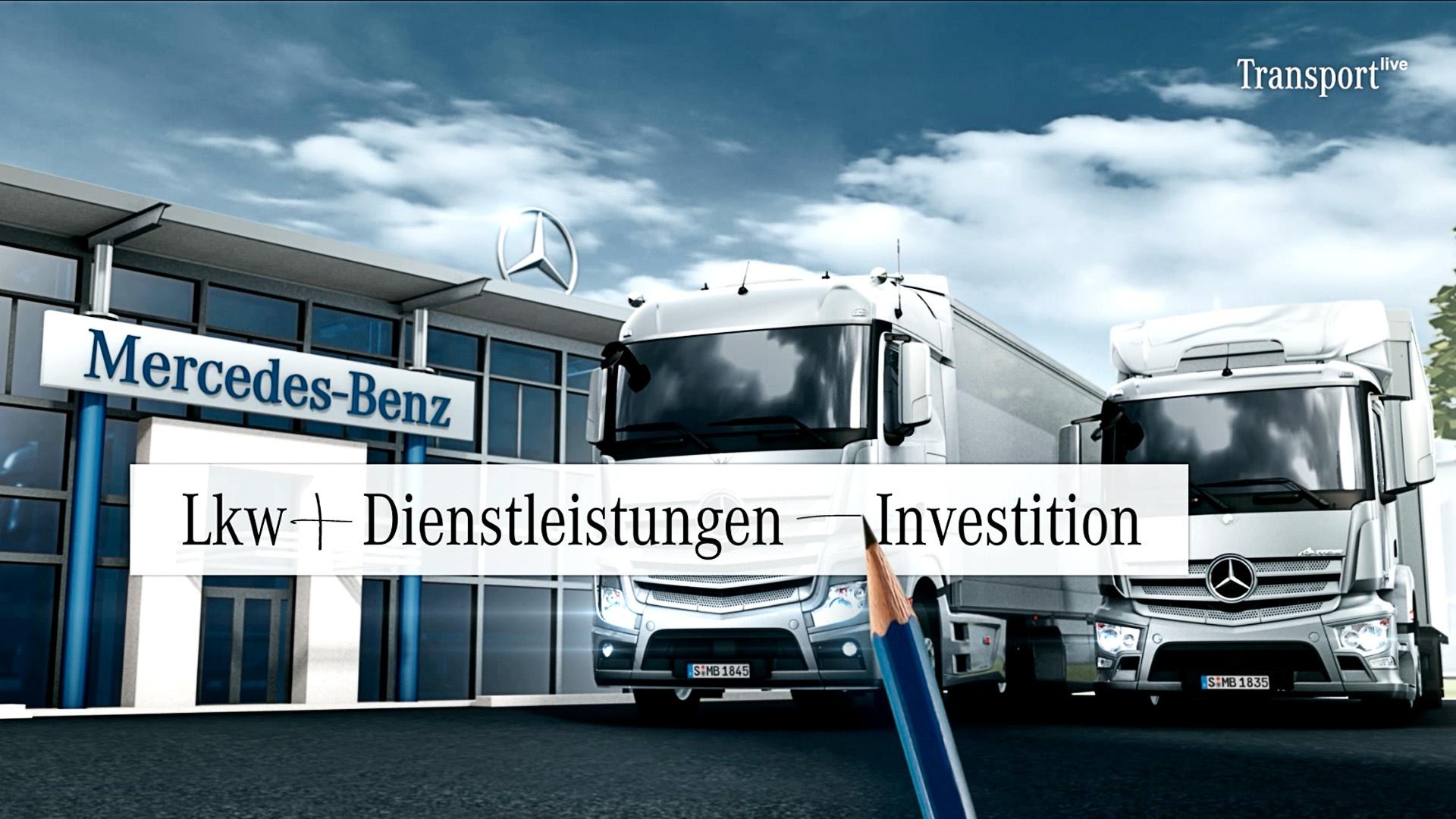 Daimler Infotainment Magazin Transport Live