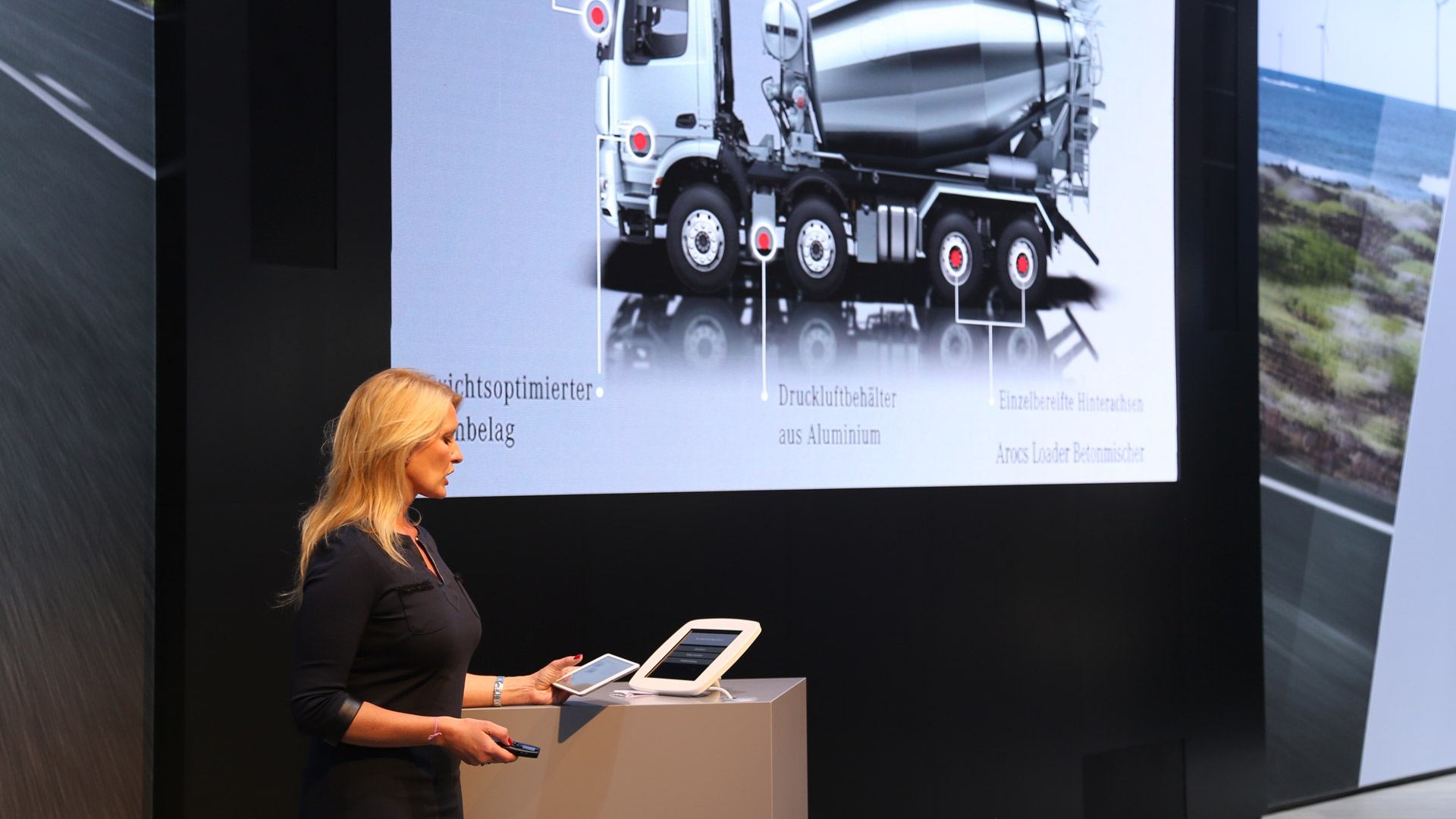 Mercedes-Benz Infotainment Magazin Transport