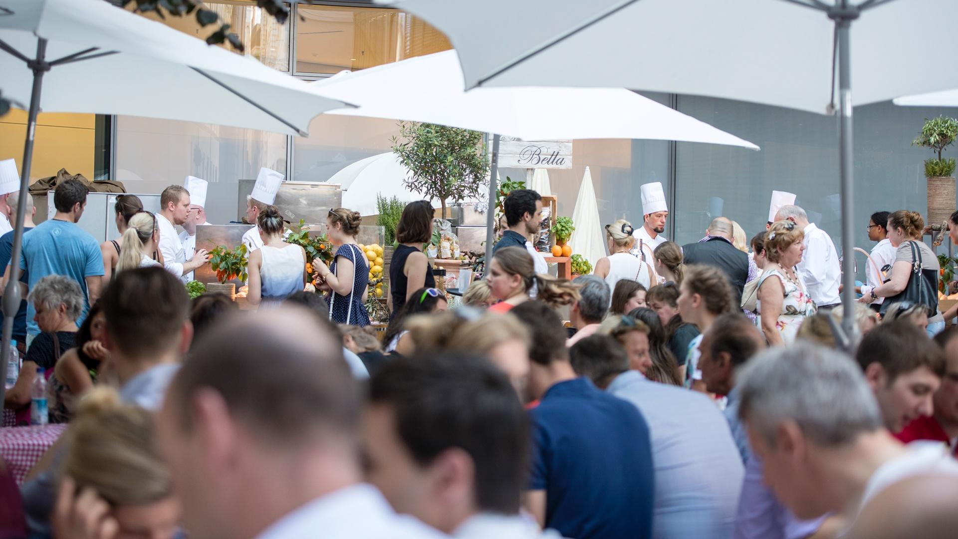 Willkommen bei Siemens – Sommerfest