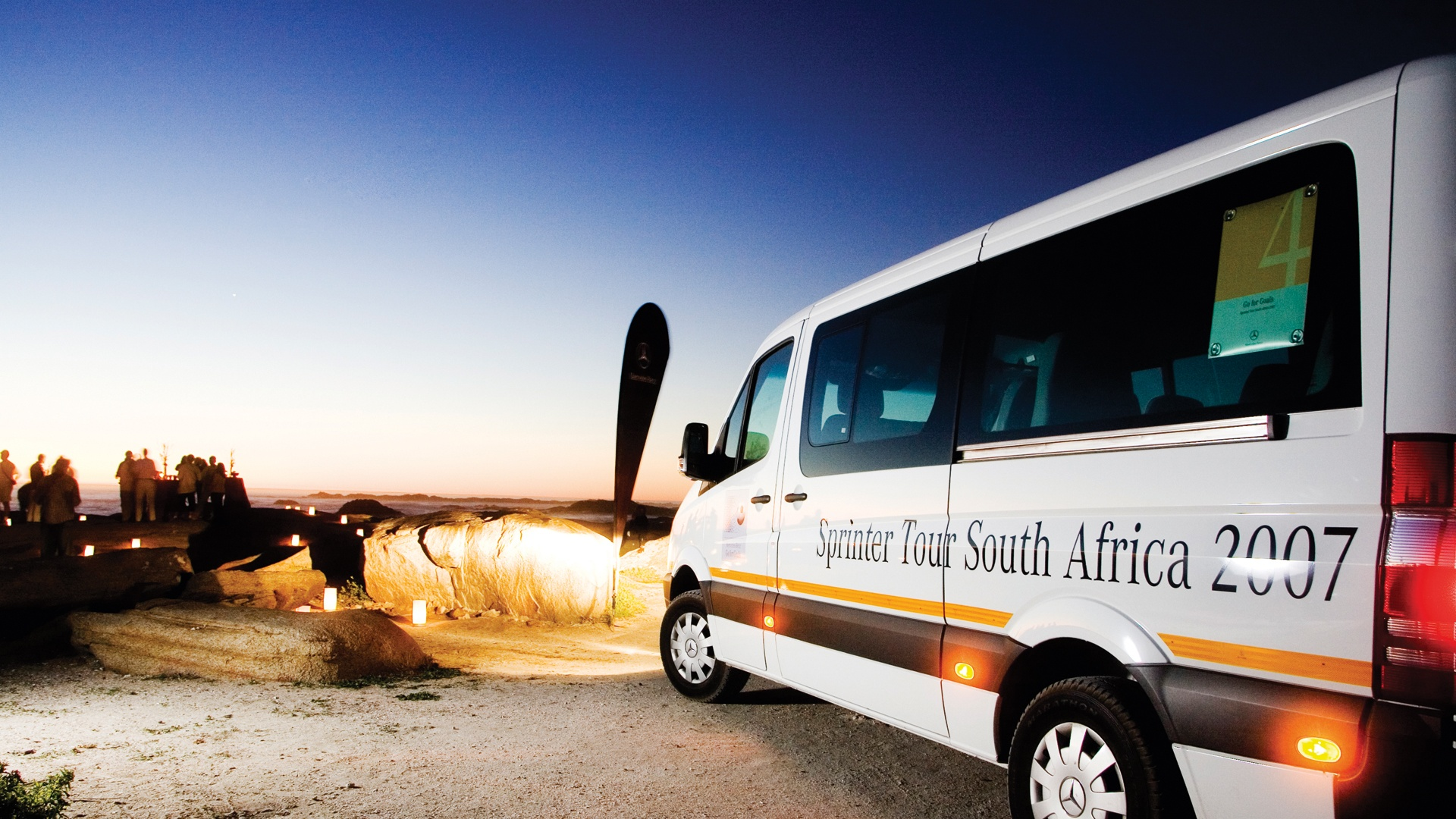 Daimler Sprinter Tour Südafrika