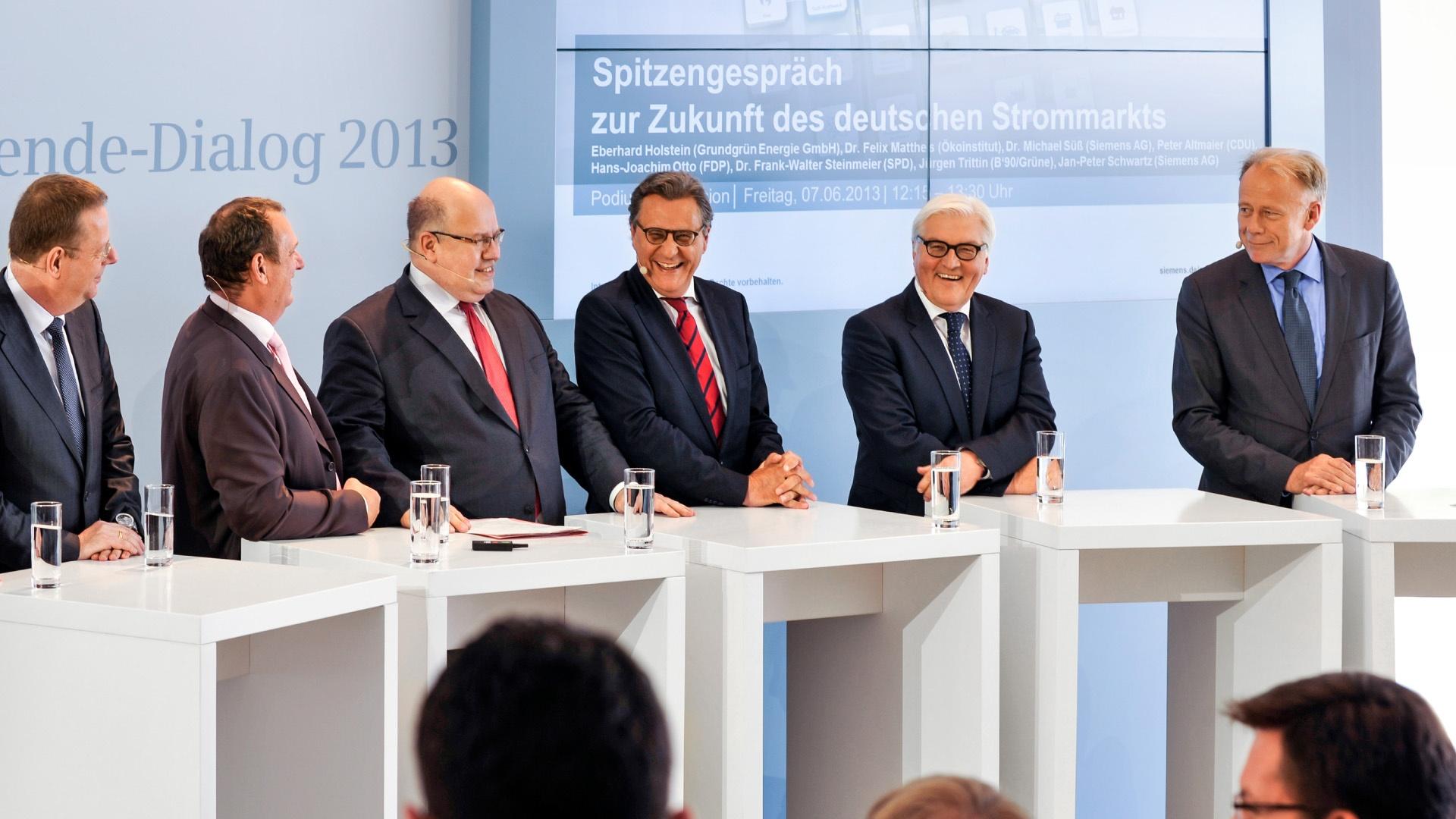Podium Siemens Energiewende